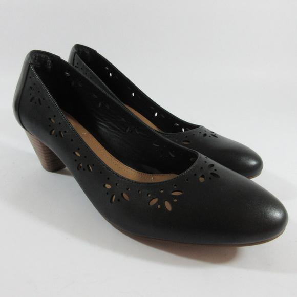 dad7a786a Clarks Shoes - Clarks Artisan Denny Dazzle Floral Cut Out Pumps